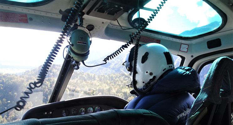 Chris, unser Pilot.