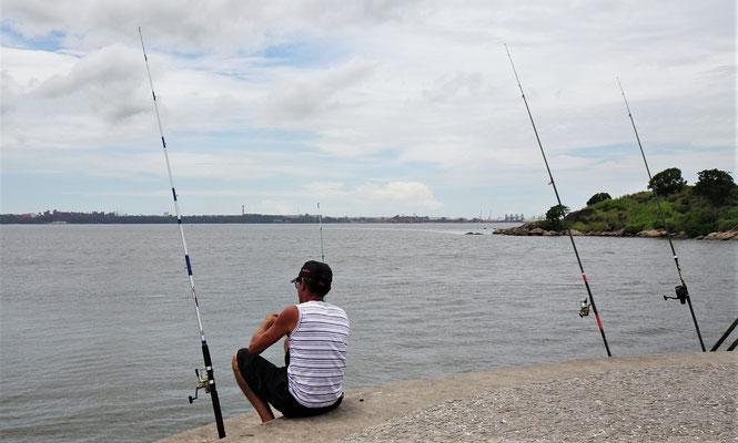 .....und sassen die Fischer.