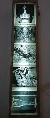 ...dem Grab des Hl. Franz Xaver.