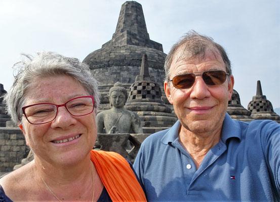 Ein Selfi mit Buddha