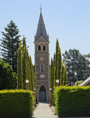 Die Dorfkirche.