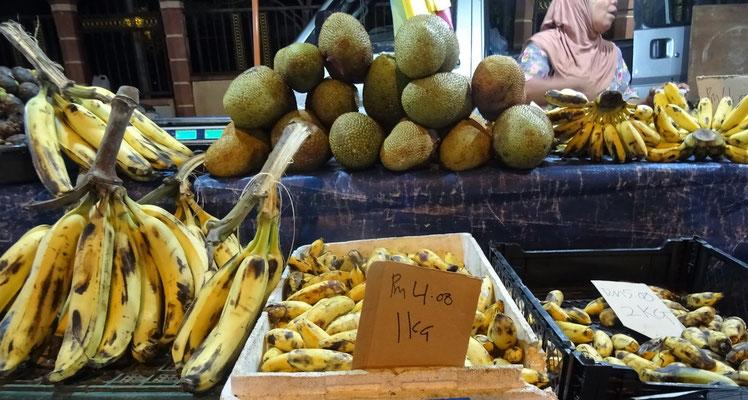 Besuch des Fruchtmarktes...