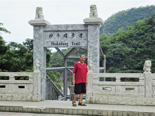 ...Start zum Shakadang Trail.