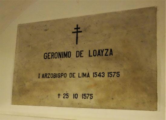 Der erste Erzbischof von Lima.