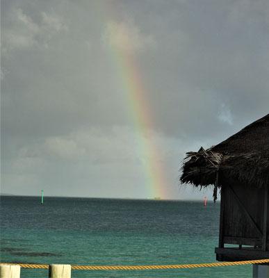.....mit Regenbogen.
