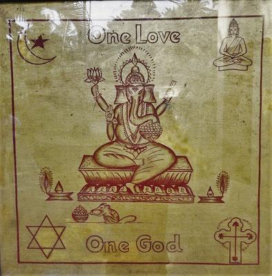 Welch Wunschvorstellung : Alle Religionen vereint.