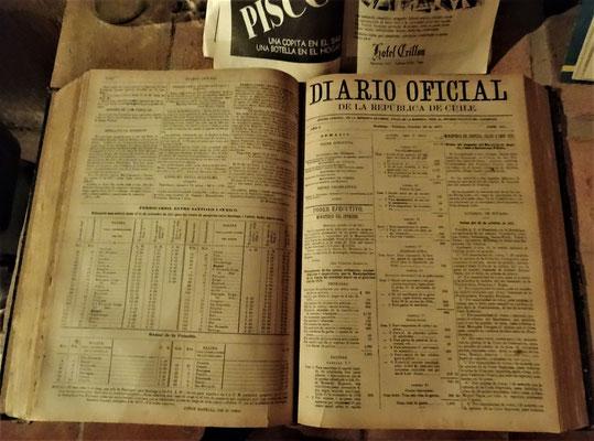 Alte Dokumente.