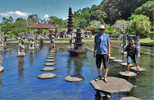 .....Wassergarten in....