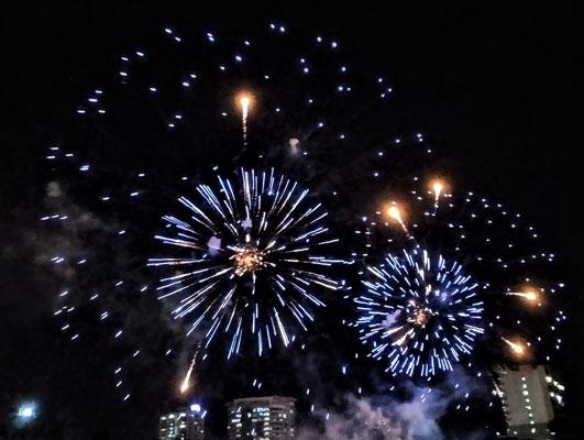 Das Feuerwerk das.....