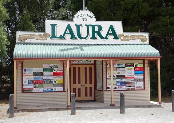.....im Laura Dorf.