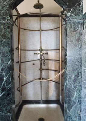 Die Original Dusche.