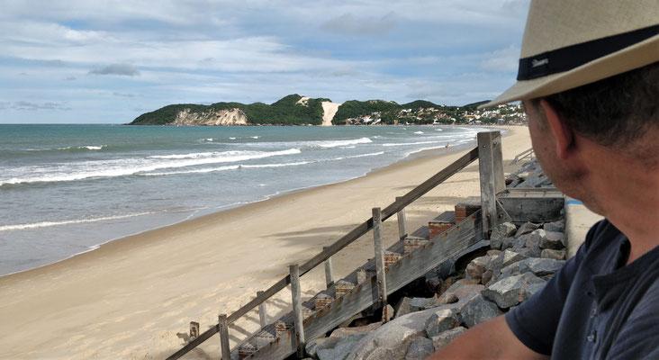 Der schöne Strand.