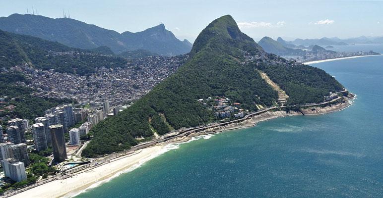 Der Strand von Ipanema.