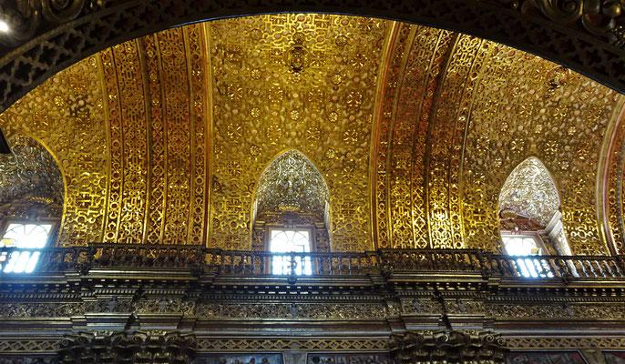 Die goldene Decke.