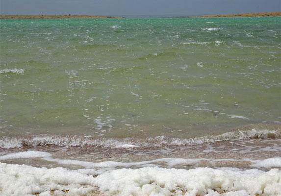 Dies ist der Meeres-Schaum und nicht Salz wie wir annahmen.