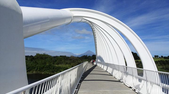 Die Te Rewa Rewa Brücke....
