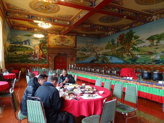 ...im Gyangtse Hotel