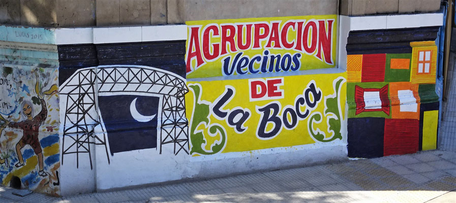 Das La Boca Quartier.