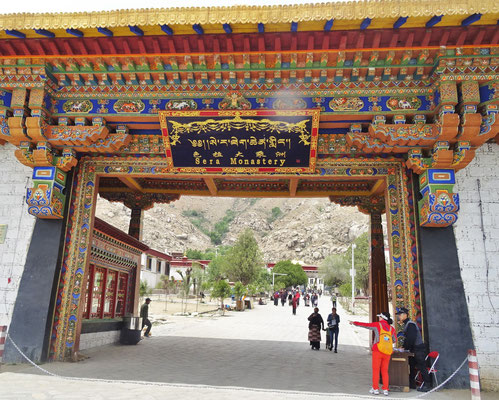 Das Kloster Sera in Lhasa