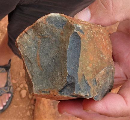 Die bläulichen Steine.