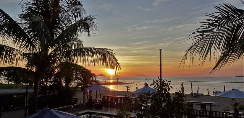 Ein herrlicher Sonnenuntergang.