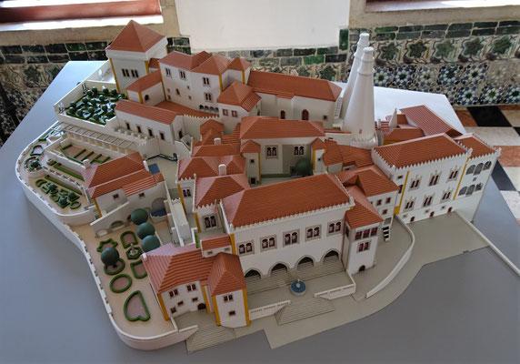 Das Modell des Palacio.