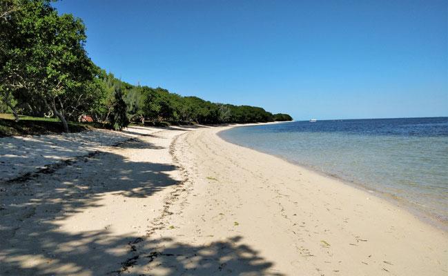 Eine fast unendliche Beach.