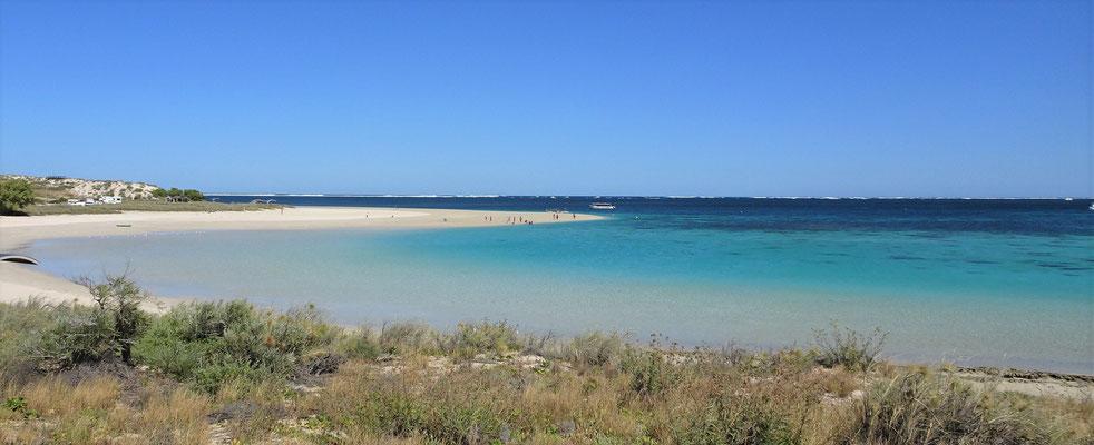 Der schöne Strand....