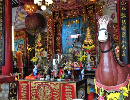 Der Tempel im Innern.