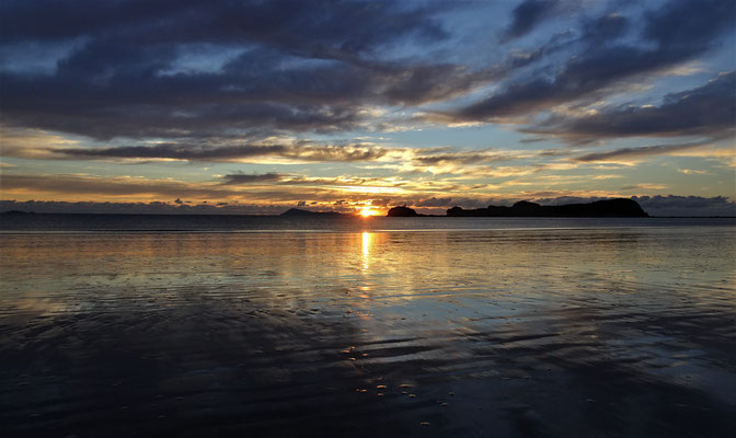 Der Sonnenaufgang......