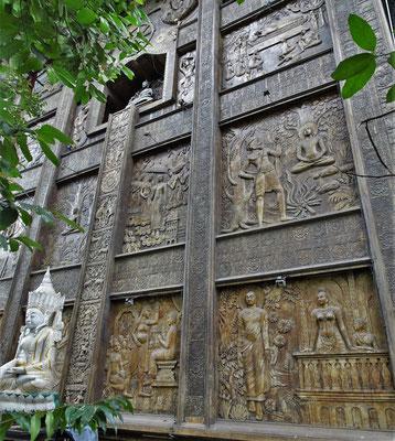 Der Gangaramaya Tempel.....