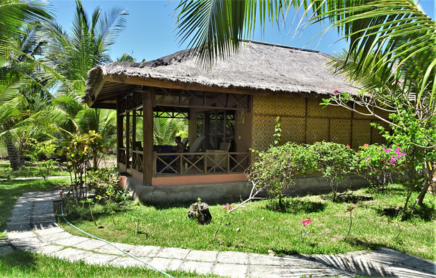Unser Bungalow im Sea World Club, Maumere, Flores.