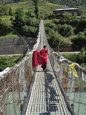 Auch der Mönch muss darüber