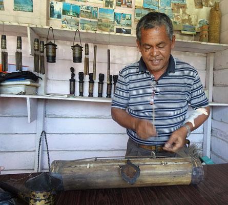 Musikinstrument aus Bambus