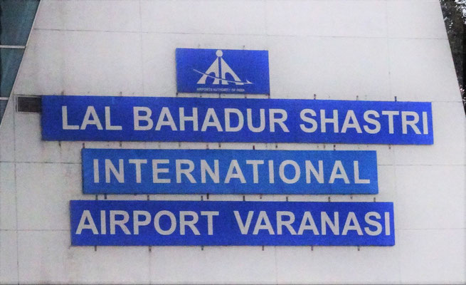 Ankunft in Varanasi mit...