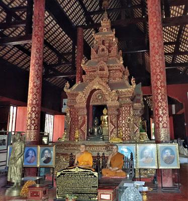 Der Wat Phantao ist ganz aus Holz.
