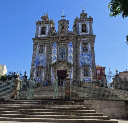 Die Igreja de Santo Ildefonso.