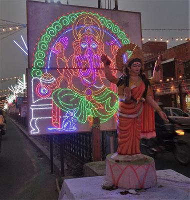 Der blinkende Ganesh...