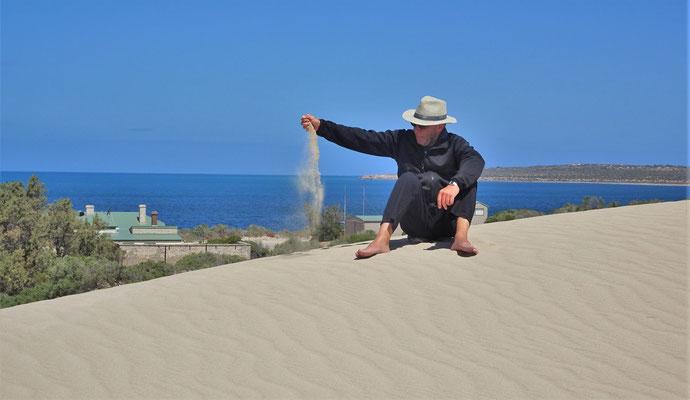 Sehr feiner Sand....