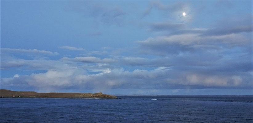 .....die Insel Magdalena.....