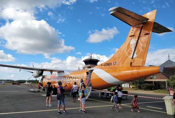 Air Caledonia und.....