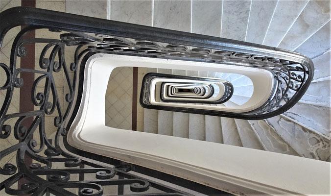 Das Treppenhaus.