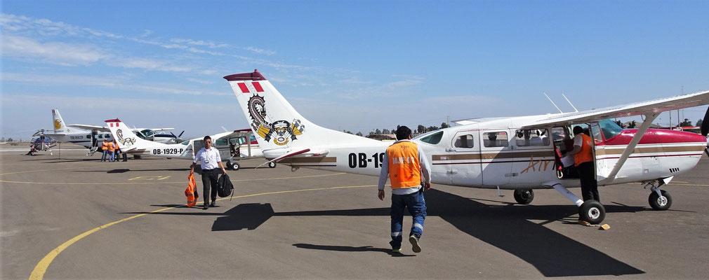 ....eine Cessna 207A.....