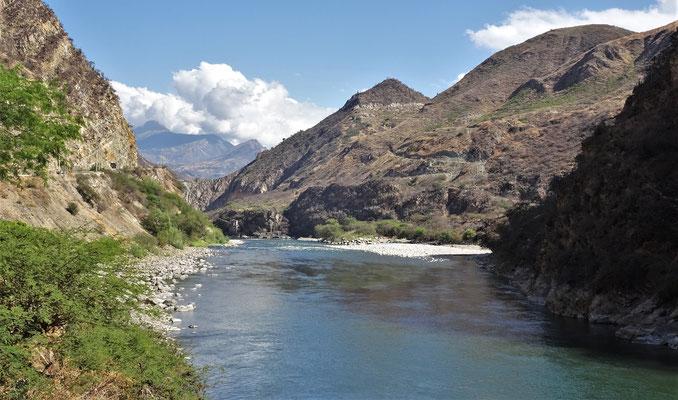 .....dem Blick auf den Fluss.