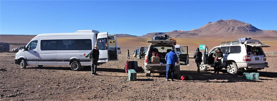 .....an der Bolivianischen Grenze.