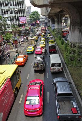 Der unglaubliche Verkehr.