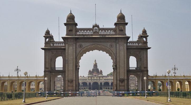 Der Mysore Palast des...