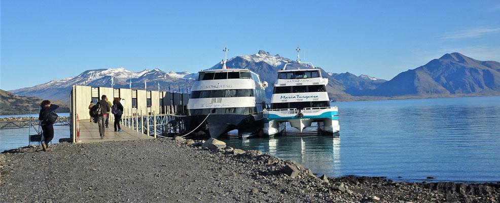 Die Maria Turquesa war unser Schiff.