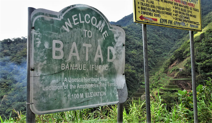 .....nach Batad.....Weltkulturerbe.