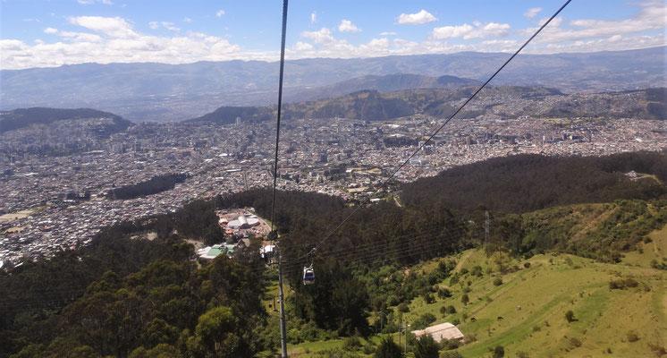 .....der Hausberg von Quito.
